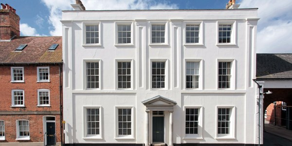 Restored Regency House