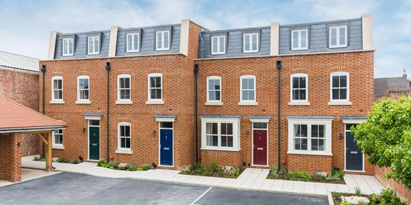 Four New Build Town Houses